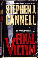 Buy Final Victim by Stephen J. Cannell 1997 Paperback Book - Good