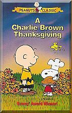 Buy VHS - A Charlie Brown Thanksgiving (1973) *Peanuts Classic / Snoopy / Lucy*