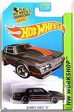 Buy Hot Wheels - '86 Monte Carlo SS: HW Workshop 2015 - Muscle Mania *Black Edition*