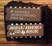Buy Lot of 2: JM38510/00803BCA (TI/NSC)