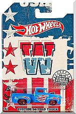 Buy Hot Wheels - Custom '56 Ford Truck: Stars & Stripes Series #05/10 (2018) *Blue*