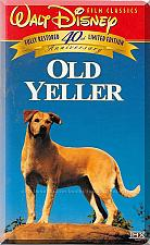 Buy VHS - Old Yeller: 40th Anniversary Limited Edition (1957) *Dorothy McGuire*
