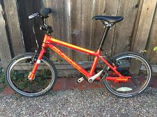Buy ISLABIKE CNOC16, Kid's pedal bike, Red