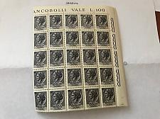 Buy Italy Siracusana L1 fluor. block mnh 1968 stamps