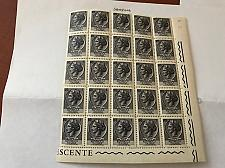 Buy Italy Siracusana L1 fluor. block mnh 1968 #2 stamps