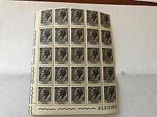 Buy Italy Siracusana L1 fluor. block mnh 1968 #4 stamps