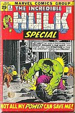Buy The Incredible Hulk Special #4 (1972) *Bronze Age / Marvel Comics / Stan Lee*