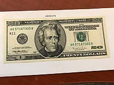 Buy USA United States $20.00 banknote uncirculated Year 1996 #4