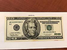 Buy USA United States $20.00 banknote uncirculated Year 1996 #9