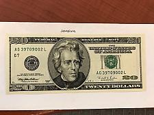 Buy USA United States $20.00 banknote uncirculated Year 1996 #11