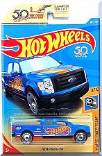 Buy Hot Wheels - 2009 Ford F-150: HW 50th Race Team #4/10 - #287/365 (2018) *Blue*