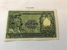 Buy Italy mint banknote 50 lira 1951
