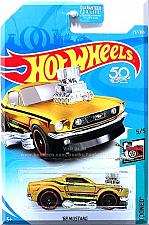 Buy Hot Wheels - '68 Mustang: Tooned #5/5 - #157/365 (2018) *Gold Edition*