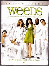 Buy Weeds - Season 3 DVD 2008, 3-Disc Set - Very Good