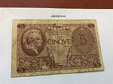 Buy Italy circulated banknote 5 lira