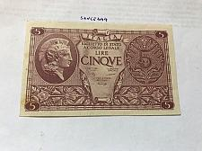 Buy Italy uncirculated banknote 5 lira
