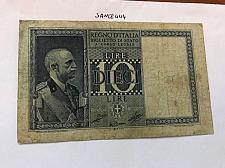 Buy Italy circulated banknote 10 lira