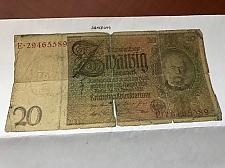 Buy Germany 20 Reichmark banknote 1929