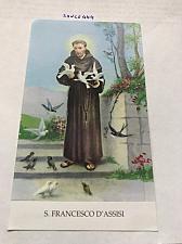 Buy Italy San Francesco di Assisi figurine card