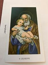 Buy Italy San Giuseppe figurine card a