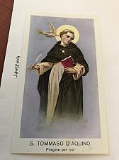 Buy Italy San Tommaso d'Aquino figurine card