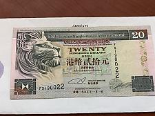 Buy Hong Kong 20 dollars banknote 1995