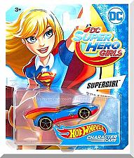 Buy Hot Wheels - Supergirl: DC Super Hero Girls (2017) *DC Comics Character Car*