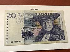 Buy Sweden 20 kronor banknote 1997
