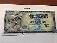 Buy Yugoslavia 50 dinara uncirc. banknote 1978