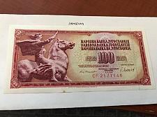 Buy Yugoslavia Jugoslavia 100 dinara uncirc. banknote 1981