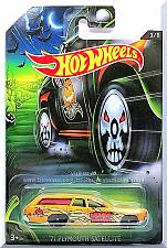 Buy Hot Wheels - '71 Plymouth Satellite: Happy Halloween! #3/8 (2017) *Gold Edition*