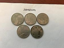 Buy Finland 10 pennia coin 1990..... lot of 5