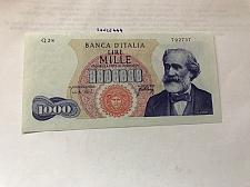 Buy Italy Verdi 1000 lire uncirc. banknote 1965