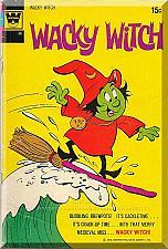Buy Wacky Witch #7 (1972) *Bronze Age / Whitman Comics / King Dingaling*