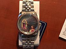 Buy Metal Band with Madonna Guadalupe Image watch free shipping
