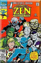 Buy Zen Intergalactic Ninja #1 (1992) *Modern Age / Archie Comics / Mini-Poster*