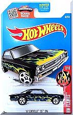 Buy Hot Wheels - '67 Chevelle SS 396: '16 HW Flames #2/10 - #92/250 *Black Edition*