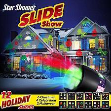 Buy as seen on tv...star shower....slide show led
