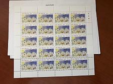 Buy San Marino Christmas 1999 full sheet stamps