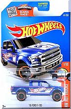 Buy Hot Wheels - '15 Ford F-150: HW Hot Trucks #1/10 - #141/250 (2016) *Blue*