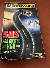 Buy Italy book : Segretissimo 1213 SAS KGB contro KGB di Ottobre 1992 libro