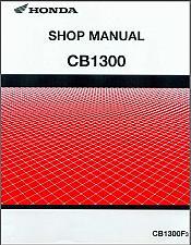 Buy Honda CB1300 (CB1300F3) Service Repair Shop Manual on a CD - CB 1300