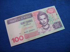 Buy 100 francs MONACO 2015 fantasy banknotes/laminated