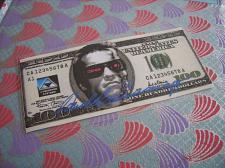 Buy 100 dollars TERMINATOR/fantasy banknotes/laminated