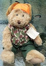 """Buy Russ Berrie Bears from the Past """"Buck the Hunter"""" 7"""""""