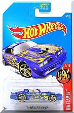 Buy Hot Wheels - '77 Pontiac Firebird: '17 HW Flames #5/10 - #13/365 *Blue Edition*