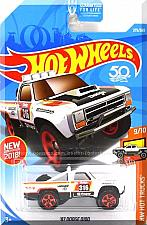 Buy Hot Wheels - '87 Dodge D100: HW Hot Trucks #9/10 - #275/365 (2018) *White*