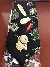 Buy NEW novelty necktie w/vegetables