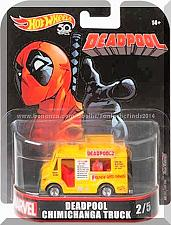 Buy Hot Wheels - Deadpool Chimichanga Truck: '18 Replica Entertainment - Marvel #2/5