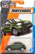 Buy Matchbox - '16 FIAT 500X: MBX Adventure #3/125 (2017) *Green Edition*